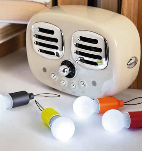 Speaker Vintage Bluetooth panna