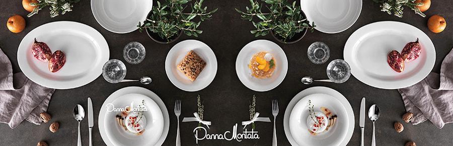 Piatti porcellana New Bone China Brandani