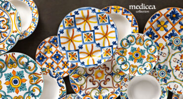 Piatti Porcellana New Bone China Medicea