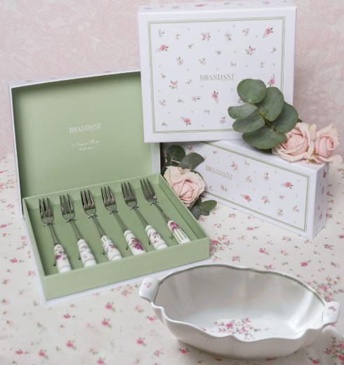 Forchettine con fiori Nonna Rosa