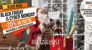 Black Friday e Cyber Monday di Brandani