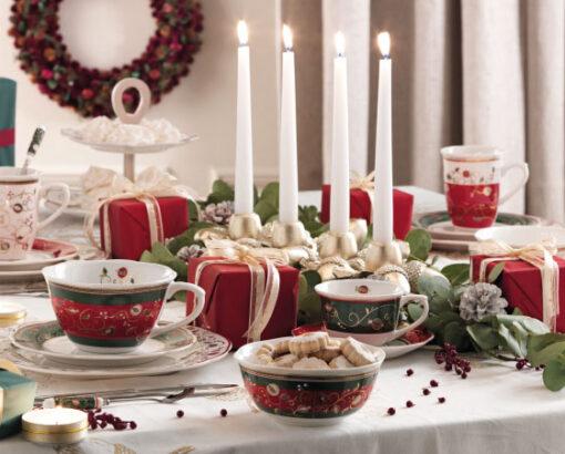 Tavola di Natale Tempo di Festa Brandani