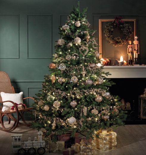Addobbi di Natale Brandani: carillion natalizi con neve