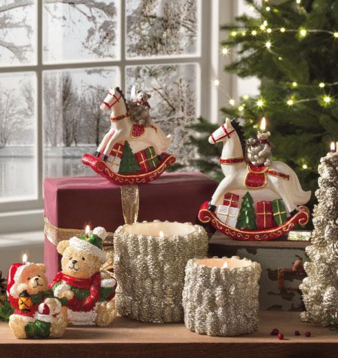 Candele natalizie Brandani