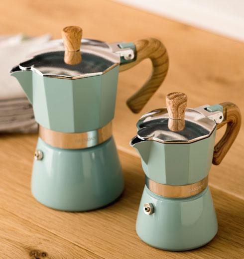 Caffettiera 1 tazze e 3 tazze Naturalexpress Brandani