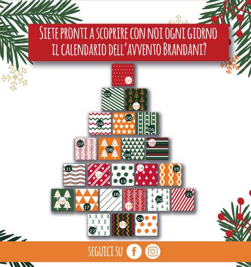 Calendario Avvento di Brandani – idee regalo per Natale