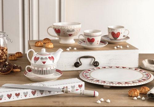 Collezione Happy Day Brandani per San Valentino