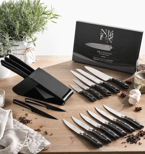 Set coltelli e ceppo Brandani