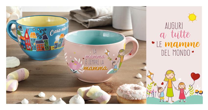 Scopri la Tazza Mamma di Brandani! Tante idee regalo per la Festa della Mamma
