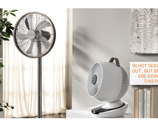 Discover floor and table Brandani's fan